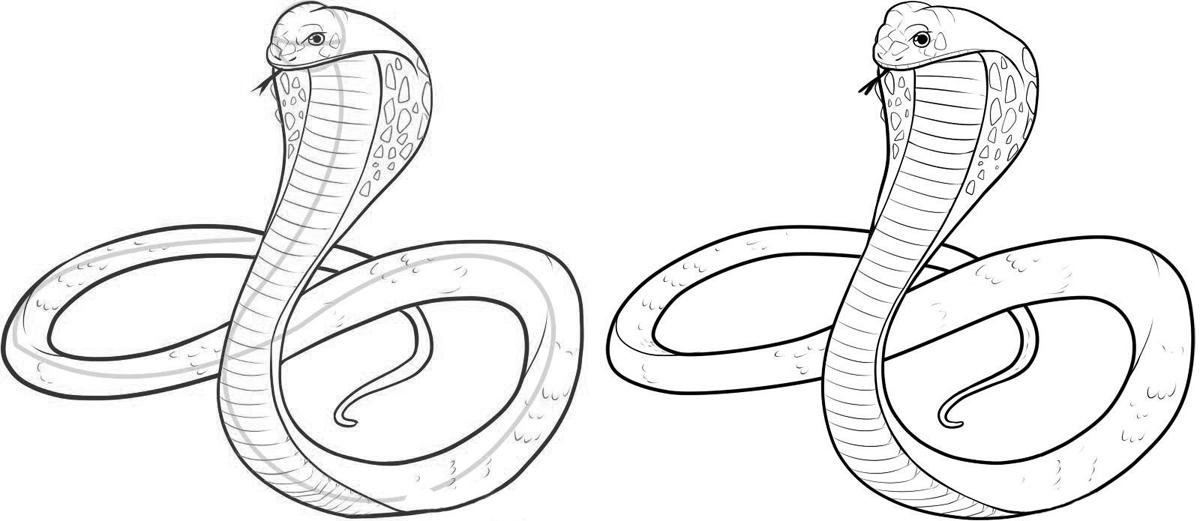 Видео как нарисовать змей