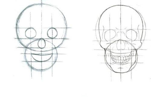 Рисуем аниме карандашом поэтапно в картинках 2