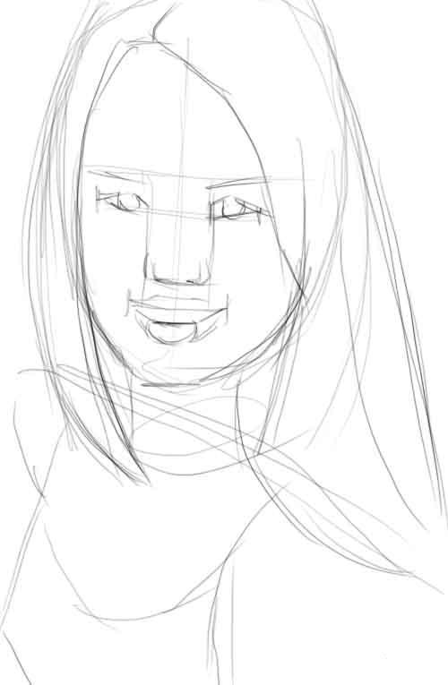 Рисуем портрет мужчины карандашом поэтапно для начинающих