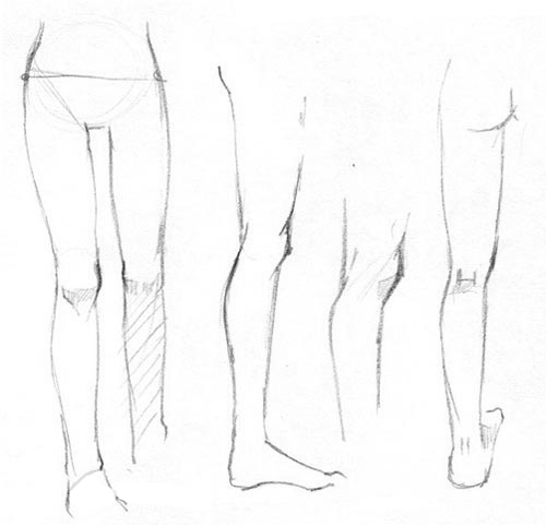 Как рисовать обнаженное женское тело