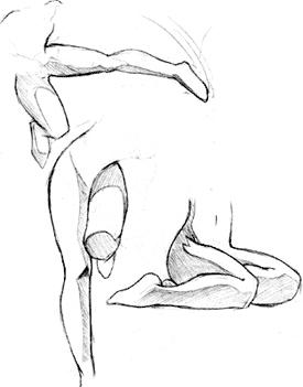 Як намалювати ноги? - уроки малювання