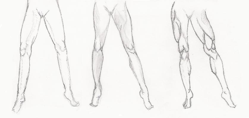 цена расширенный уроки рисования ноги женщины боком Саша Стриженова