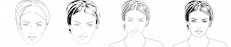 Учиться рисовать портреты для начинающих карандашом поэтапно 177