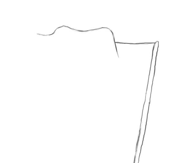 111Нарисованный флаг карандашом поэтапно для начинающих